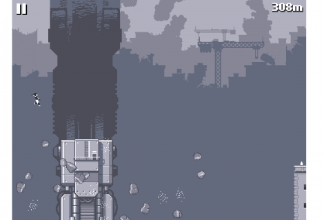 Endless iOS Runner 'Canabalt' Updated With Widescreen, New Modes, Multiplayer
