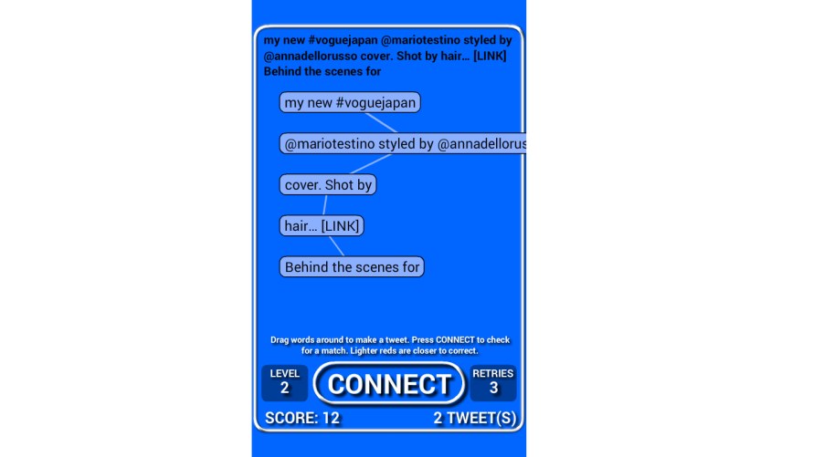 'Connected Words' (LD30) Is Ready to Assemble Sentences On Mobile Devices