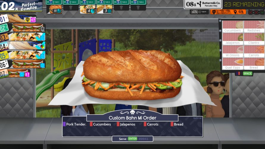 Prove Your Worth as a Food Trucker in 'Cook, Serve, Delicious! 3?!'s War-Torn Near-Future