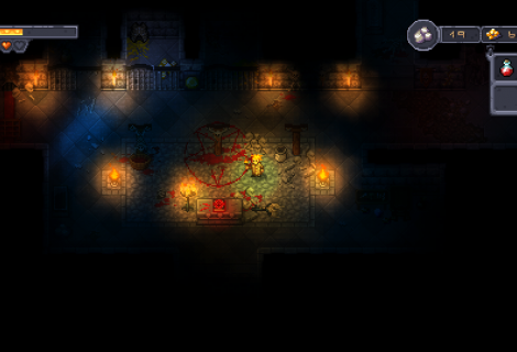 Flame On, Flame Off: Survive in 'Courier of the Crypts' by Keeping Your Magical Torch Lit
