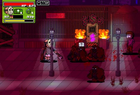 Slice, Dice, Cut, Gut and Blast Zombies in the 'Dead Pixels II: Straight To Video' Demo