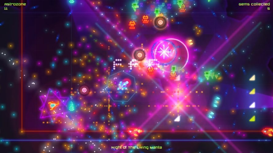 'Death Ray Manta SE' is a Flashy Space Fish Twin-Stick Shootin' Oldie With Arcady Roots