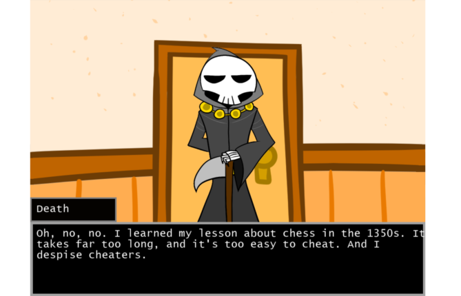 How About One Last Chat With the Grim Reaper at 'Death's Door'?
