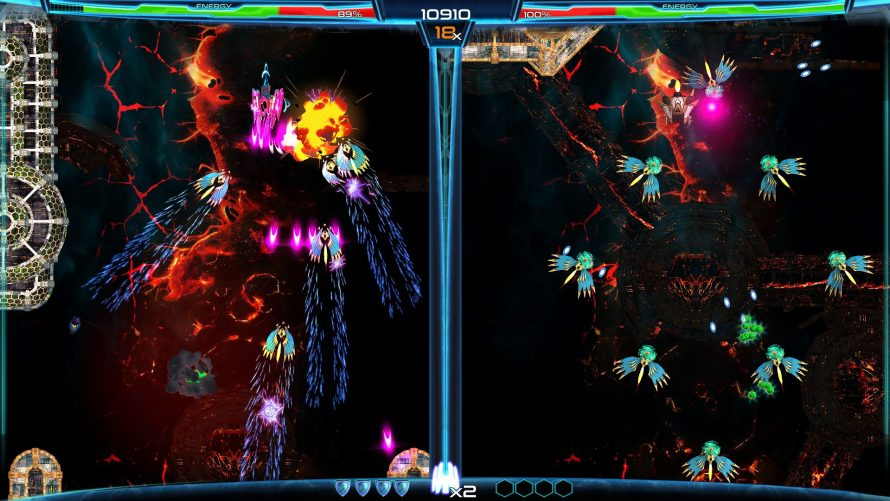 2 Screens, 1 SHMUP: 'Dimension Drive' Exiting Early Access for Switch Launch… Soon!