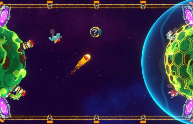 Prehistoric Creatures Aim to Make Quite a Racket in 'Dino Galaxy Tennis'
