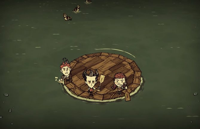 Build a Boat, Board it With All Your Friends to Survive New Challenges in 'Don't Starve Together: Return of them - Turn of Tides'