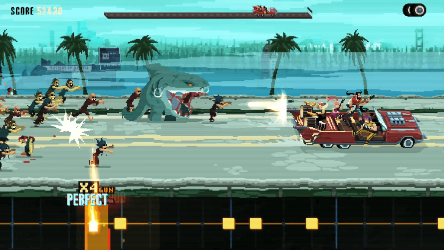 'Double Kick Heroes' Demo Impressions: Post-Apocalyptic Heavy Metal Survival!