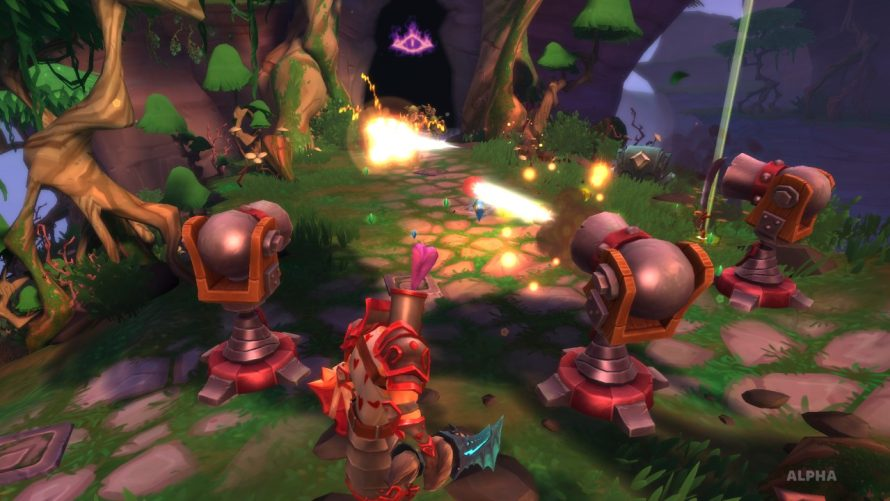 'Dungeon Defenders II' Gets Spooky With Halloween Themed Content Patch
