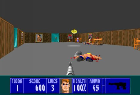 'ECWolf' Adds a Few Modern Features to 'Wolfenstein 3D'