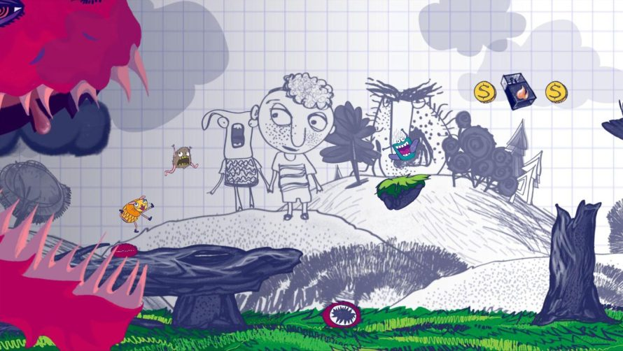 Get Gassy, Run as Fast as You Can, and You May be Able to… 'Escape Doodland'