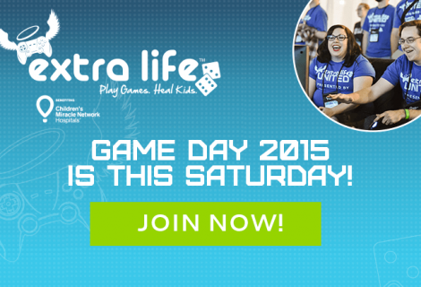 Marathon Gaming Fundraiser 'Extra Life' Kicks Off This Weekend