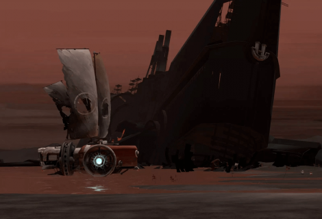"'FAR: Lone Sails' Embarks On a Journey of Discovery Across... ""a dried-out seabed""?"