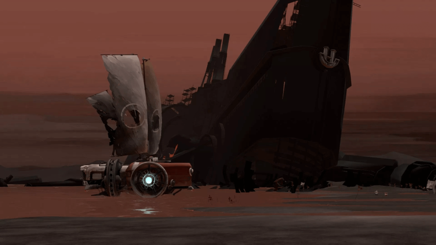 "'FAR: Lone Sails' Embarks On a Journey of Discovery Across… ""a dried-out seabed""?"