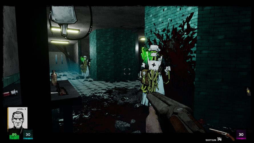 The Biggest Threat is Internal in Lovecraftian FPS 'Forgive me Father'