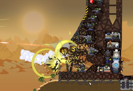 In 'Forts', Towers Are Made to Clash, and Eventually They Will be... DEMOLISHED!