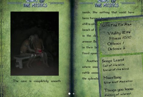 Make Magical Music In 'Gamebook Adventures 11: Songs of the Mystics'
