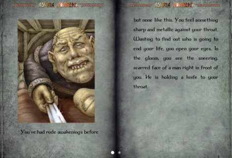 Discover the Fate of a Missing Emissary as 'Asuria Awakens' In 'Gamebook Adventures' 12
