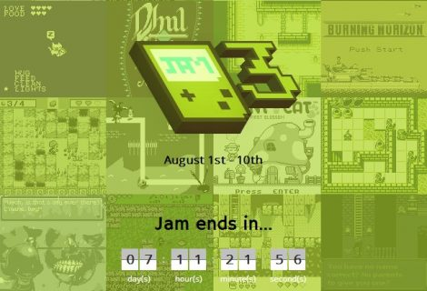 'GBJam 3': Jam With Four Shades of GameBoy Gray