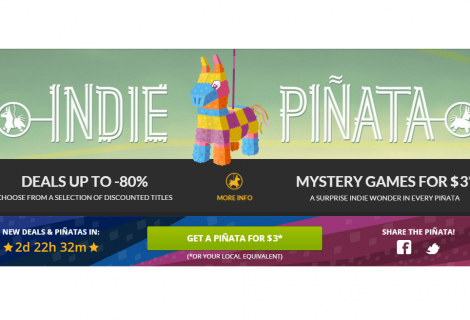Indie Piñata Smashes Week-Long DRM-Free Discounts With a Twist