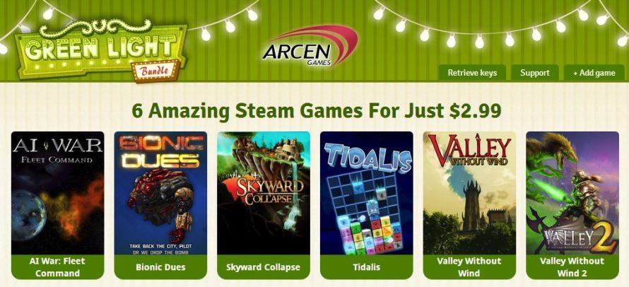 The Green Light Bundle Shines a Bright Spotlight On Arcen Games