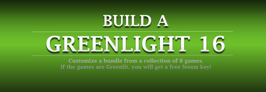 Mix, Match, Build a 16th Greenlight Bundle With Groupees