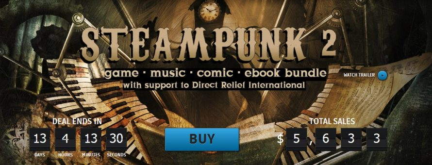 Experience the 19th Century That Never Was With the Steampunk 2 Bundle