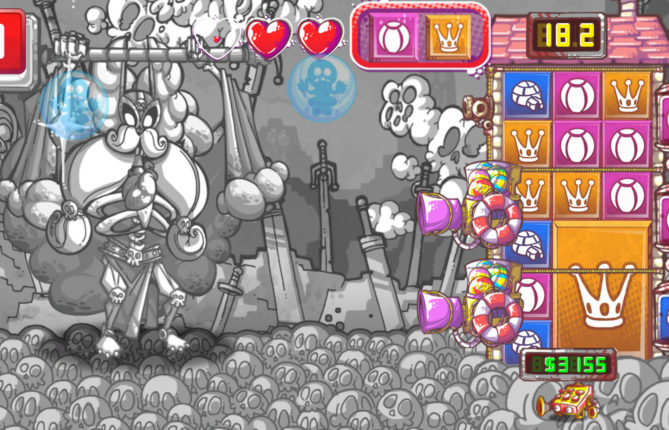 Puzzle and Tower Defense With Countless Guns? Such is the Groovy Genre Mashup 'Gunhouse'