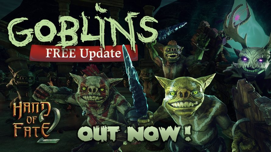 Mischief Comes to 'Hand of Fate 2' as Goblins Invade… Everywhere!