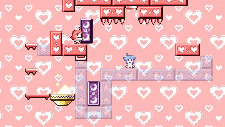 Swap Between Worlds to Help Two Friends Solve Puzzling Conundrums in 'Heart Star'