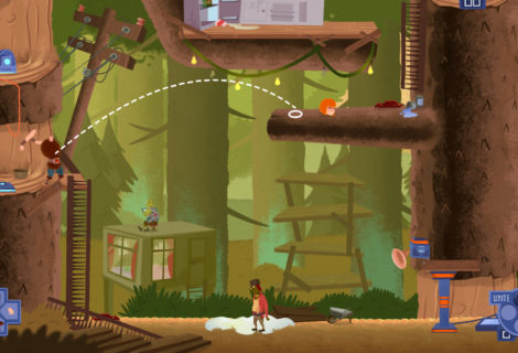 'Helheim Hassle' Turns the Detachable Limbs of Its Protagonist Into... Puzzle Pieces?