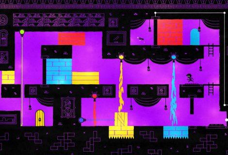 'Hue' Shapes a Contrasted Platforming Through Color(ful) Manipulation