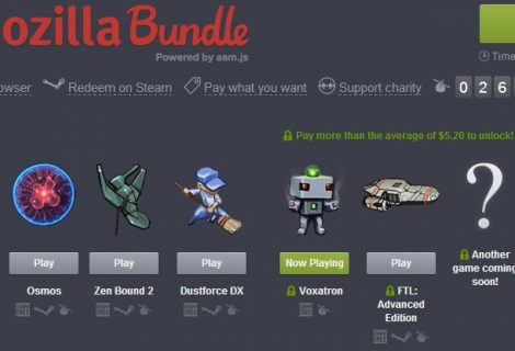 Humble Mozilla Bundle Highlights the Power of OS- and DRM-Free Browser Gaming