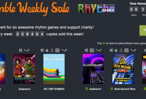 Humble Bundle's Latest Weekly Lets You Get Into the Groove, Surf, Blast Aliens