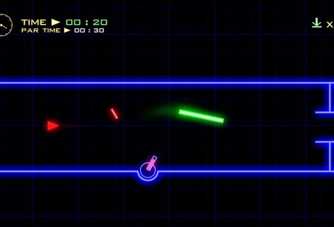 'Hyphen' Impressions: Challenging Top-Down Thread the Needle Neon Racing