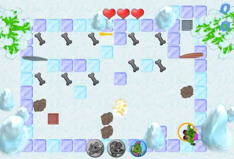 'Ice Escape' Preview: Puzzle a Trio of Prehistoric Creatures to Safety
