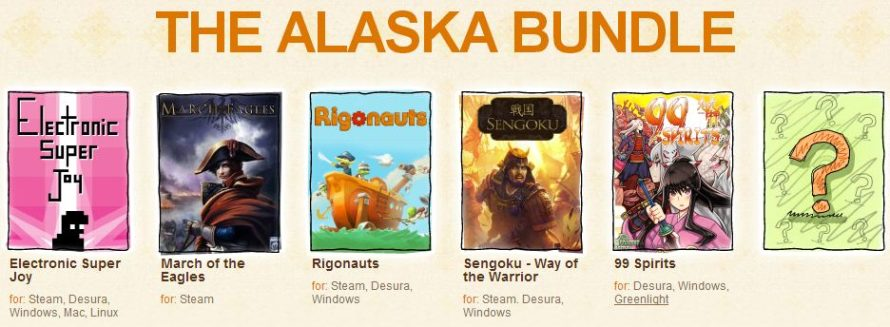 Next Stop For the Bundle Train: Alaska, Indie Royale