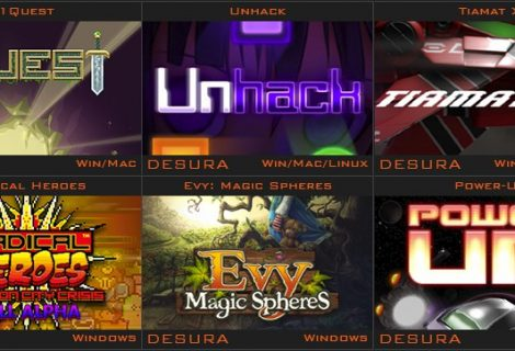 DailyIndieGame Bundles Greenlight With '1Quest', 'Unhack', 'Tiamat X' Front and Center