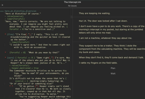 inkle's Interactive Fiction Scripting Language 'ink' Has Reached Version 1.0