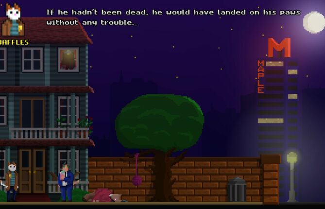 Step Into the Shoes of 'Inspector Waffles' to Solve a Murder in Cat Town