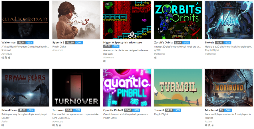 itch.io Does Discounts by Seasonally Scratching That #itchsummersales