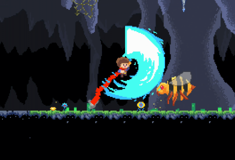 'JackQuest: The Tale of The Sword' Set to Wield a Larger-Than-Life Metroidvania Blade