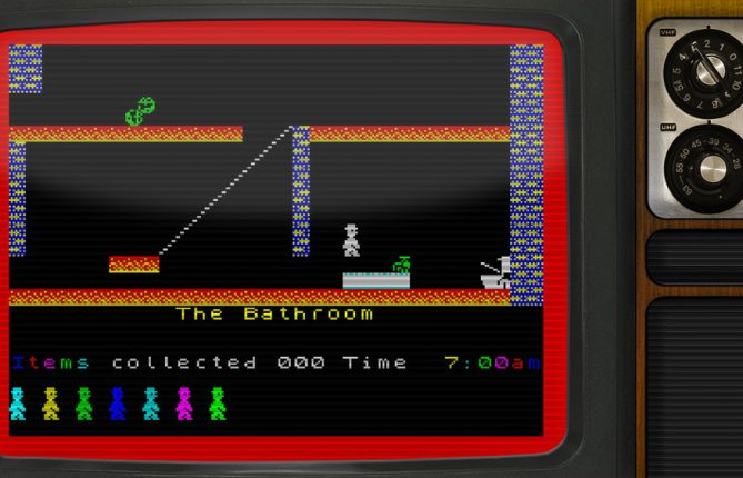 From ZX Spectrum to XBLIG: 'Jet Set Willy 360' Is Out