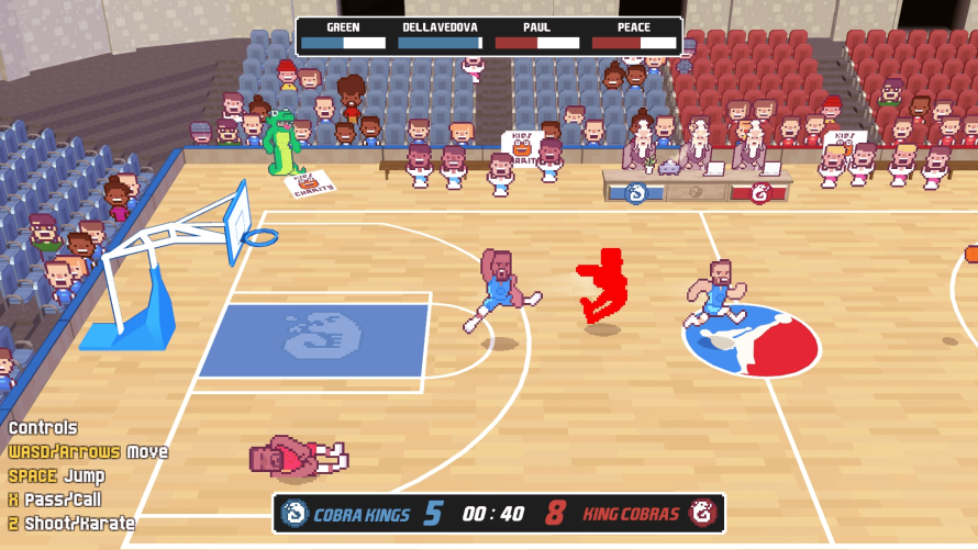 Who Needs a Referee When You Can Have 'Karate Basketball'?