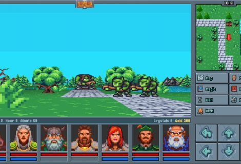 Relive the Glory Days of 'Eye of the Beholder' and 'Dungeon Master' With 'Legends of Amberland: The Forgotten Crown'