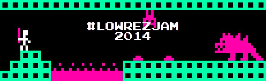 #LOWREZJAM 2014 Is the Nostalgia Trip of Game Jams