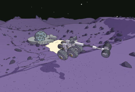 Deliver Cargo Across the Red Planet in Physics-Based 'Mars First Logistics'