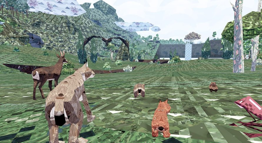 Might and Delight's 'Meadow' Asks You to Unleash Your Favorite 'Shelter' Animal… Online