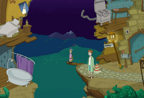 'Midnight at the Celestial Palace: Chapter I' Combines Colorful Comical Questing With... Tune Trickery?