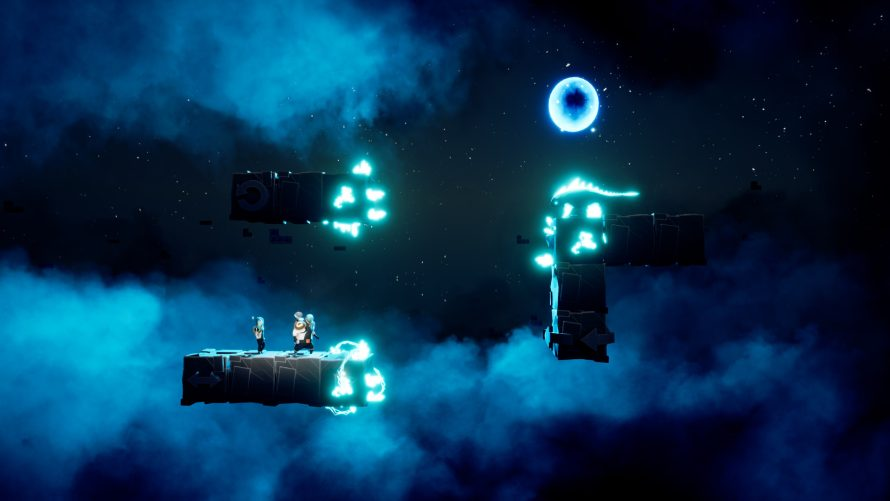 Two Characters, Two Abilities: Cooperate to Spin Blocks in 'Minimal Move'
