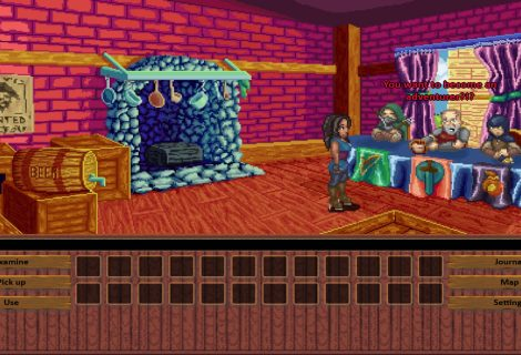 Point 'n Click Adventure 'Monkeys & Dragons' Ending to be Decided by Player Feedback